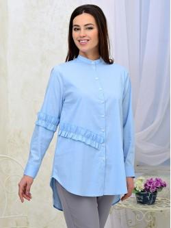 Блузка-рубашка 20-22
